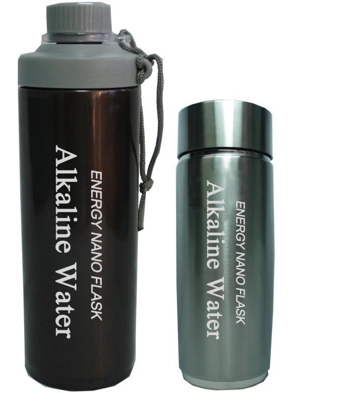 仪健双杯芯保温水杯 养生水杯 保健水杯 纳米水杯