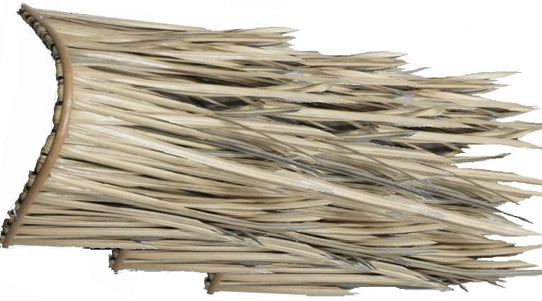 全球塑料纤茅草稻草屋面新型瓦园林景观