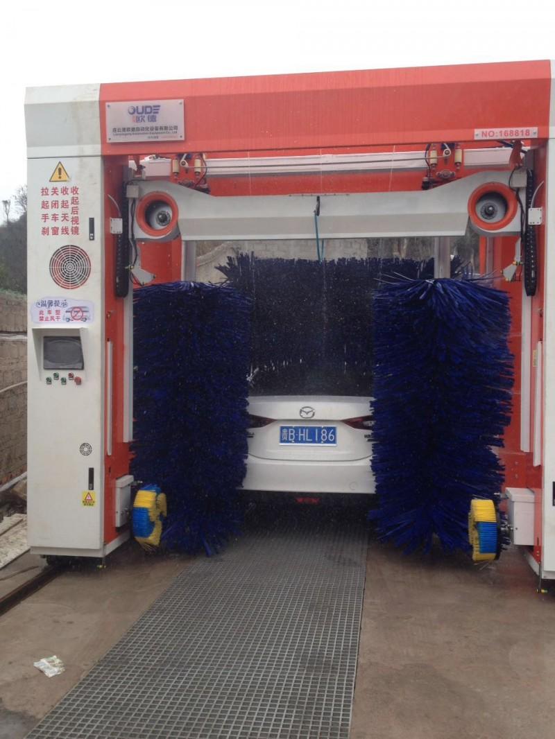 全自动七刷带风干洗车机