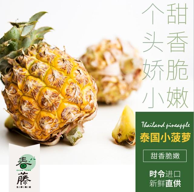 泰国进口水果-泰国小菠